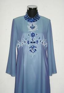 Abaya biru 2